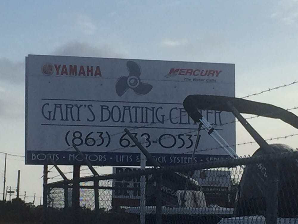 Gary's Boating Center: 15520 Hwy 27, Lake Wales, FL