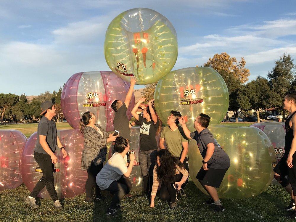 Silicon Valley Bubble Soccer