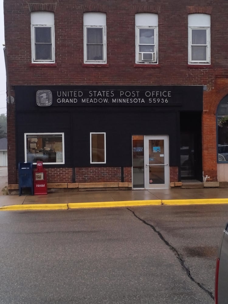 US Post Office: 129 Main St S, Grand Meadow, MN