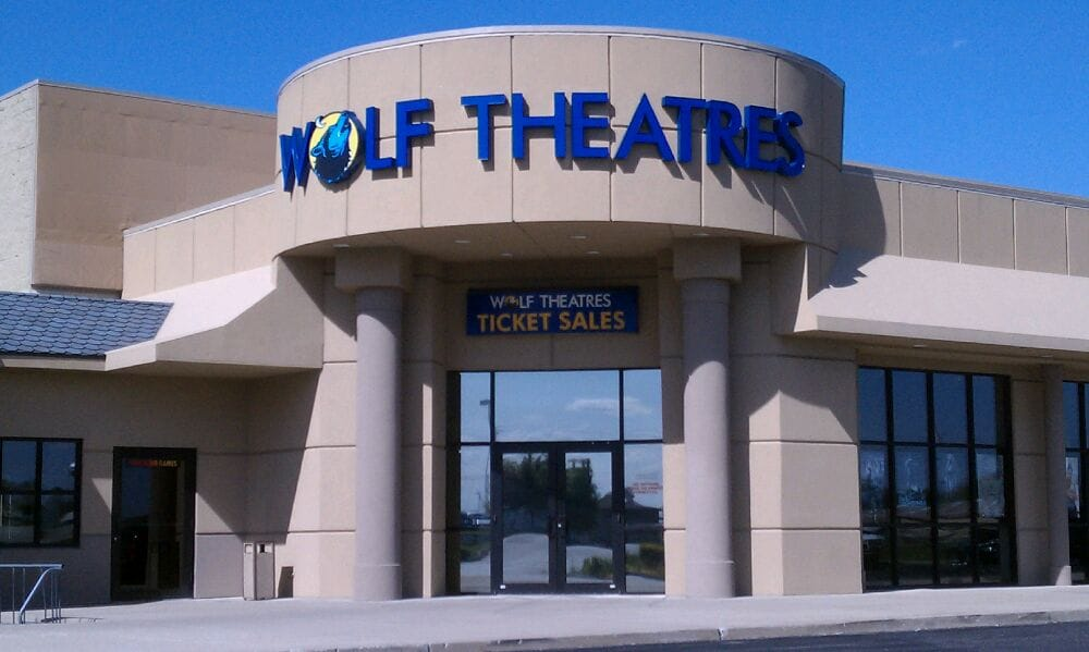 Wolf Theatres: 910 W Ann Blvd, Greensburg, IN