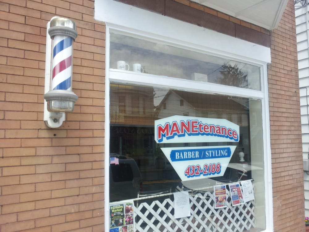 Manetenance Barber Styling: 14 S Baltimore St, Dillsburg, PA