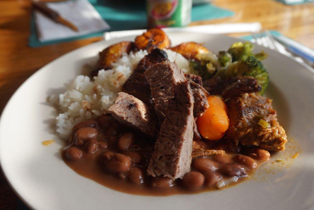 Food from Mainha Restaurant