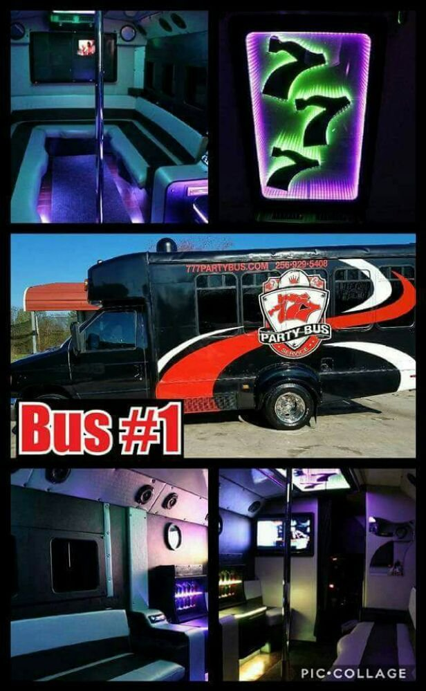 777 Party Bus: Harvest, AL