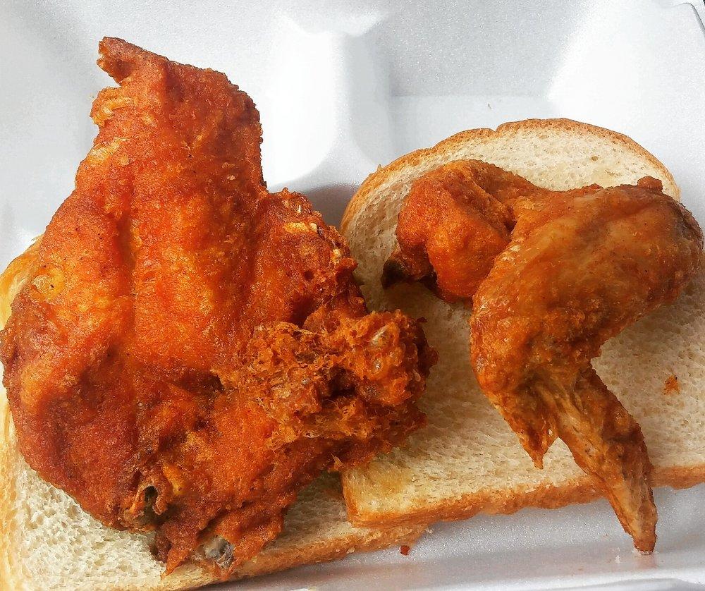 Gus's World Famous Fried Chicken: 4101 3rd St, Detroit, MI
