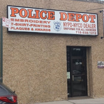 Blue Knight Police Depot Sewing Alterations 23 19 College