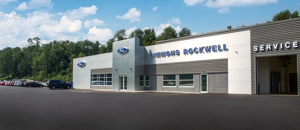 Simmons-Rockwell Ford of Hallstead: 23761 US 11, Hallstead, PA