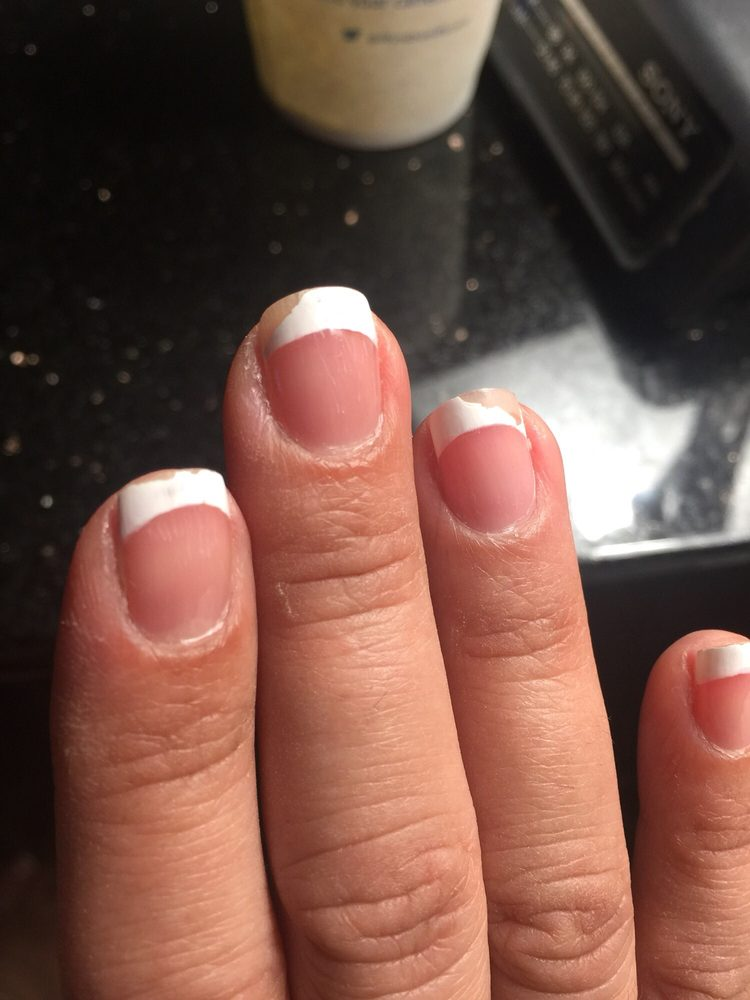 The nail polish is falling off like if it was an old manicure - Yelp