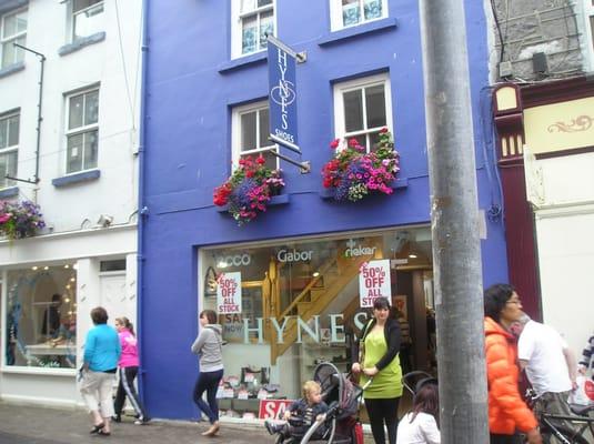 da9a5aff01276 Hynes Shoes - Shoe Shops - 8 Lower Abbey Gate Street, Galway - Phone ...
