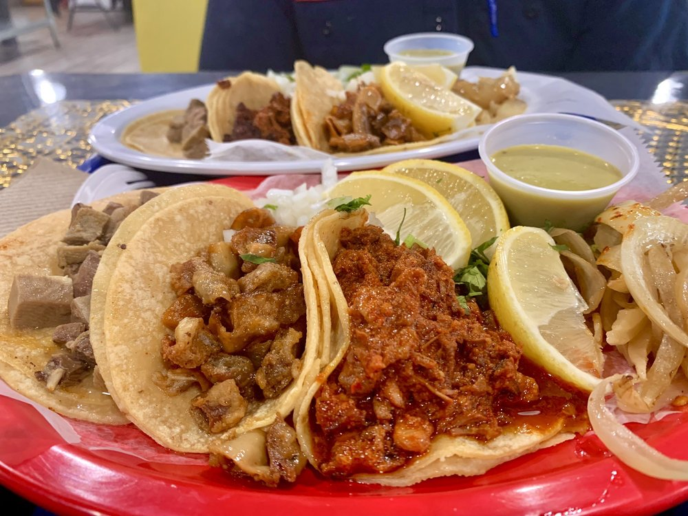 Food from Knockout Tacos