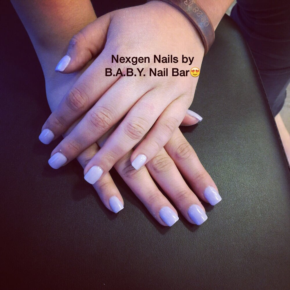 Nexgen Nails in purple!! The color, length and shape of your choice ...