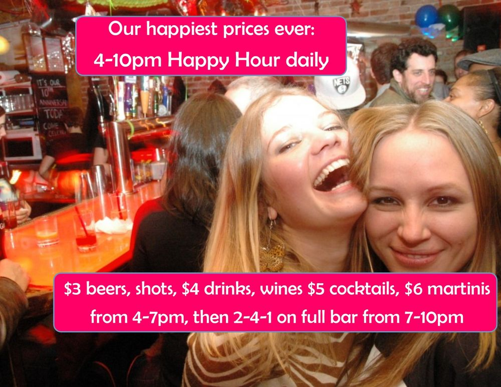 Best happy hour spots in nyc whatsnom 533 reviews malvernweather Gallery