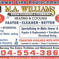 Photo Of M A Williams Drain Cleaning Plumbing Richmond Va United States
