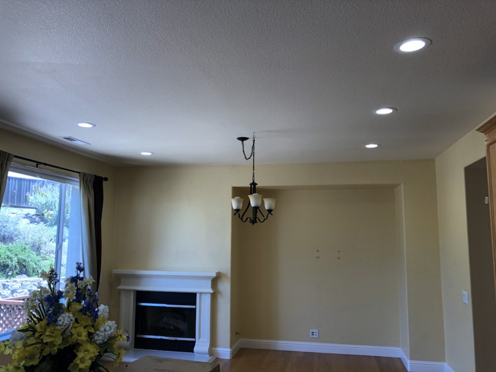 Dining Room Recessed Lights. Chandelier Was Already There ...