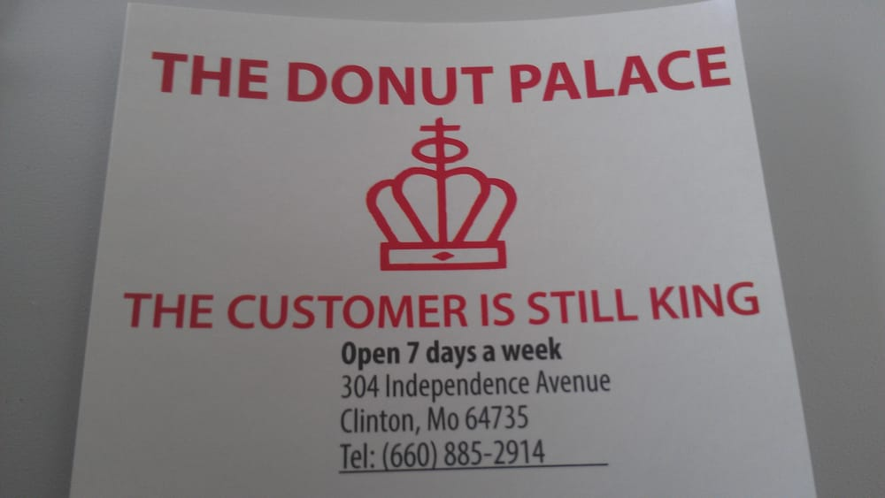 The Donut Palace: 304 Independence Ave, Clinton, MO