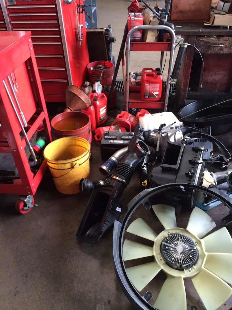 Not a pile of junk my engine from my ford f 350 They got paid from ...