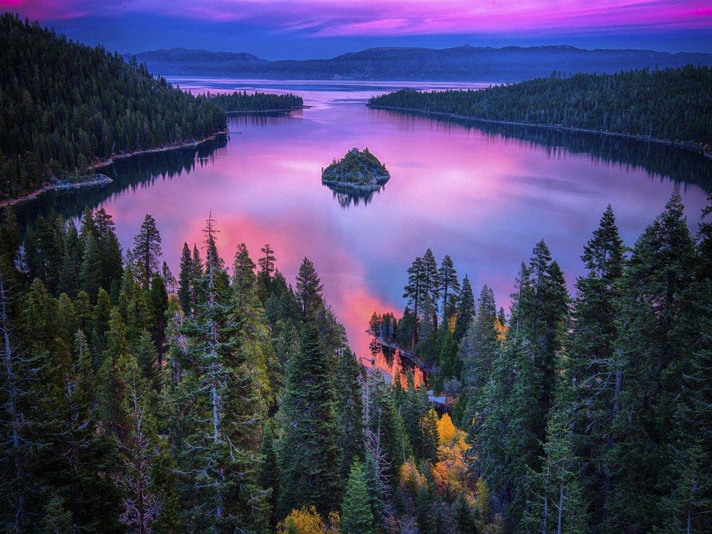 Tahoe Lake Love