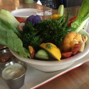 True Food Kitchen Crudite farmers market crudités - menu - true food kitchen - san diego