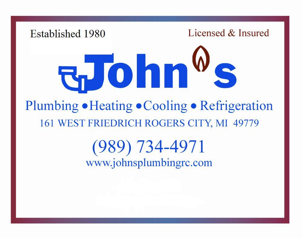 John's Plumbing & Heating: 161 W Friedrich St, Rogers City, MI