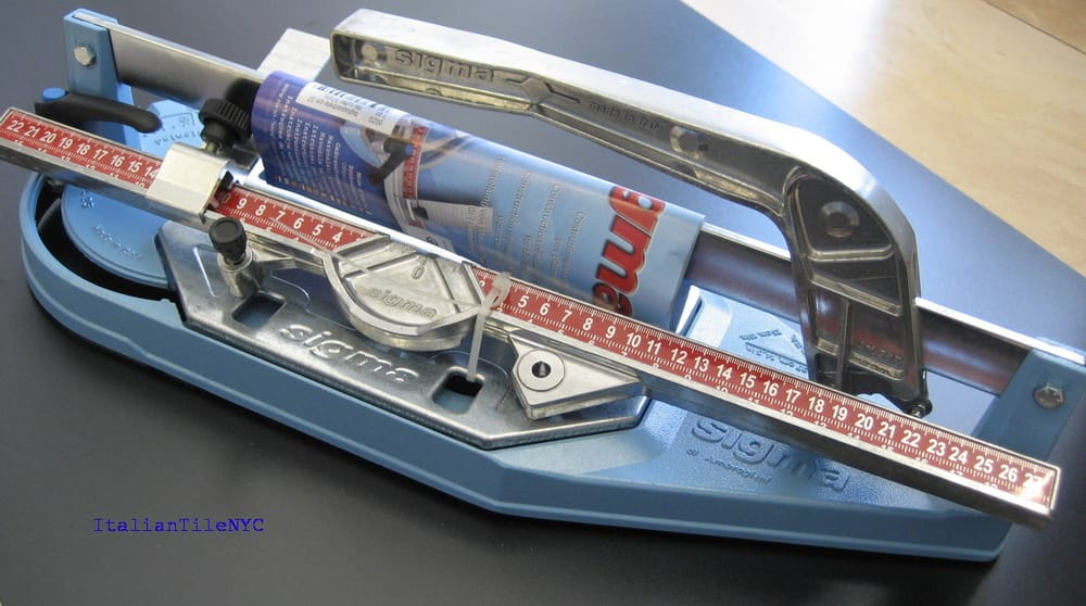 sigma tile cutter how to use
