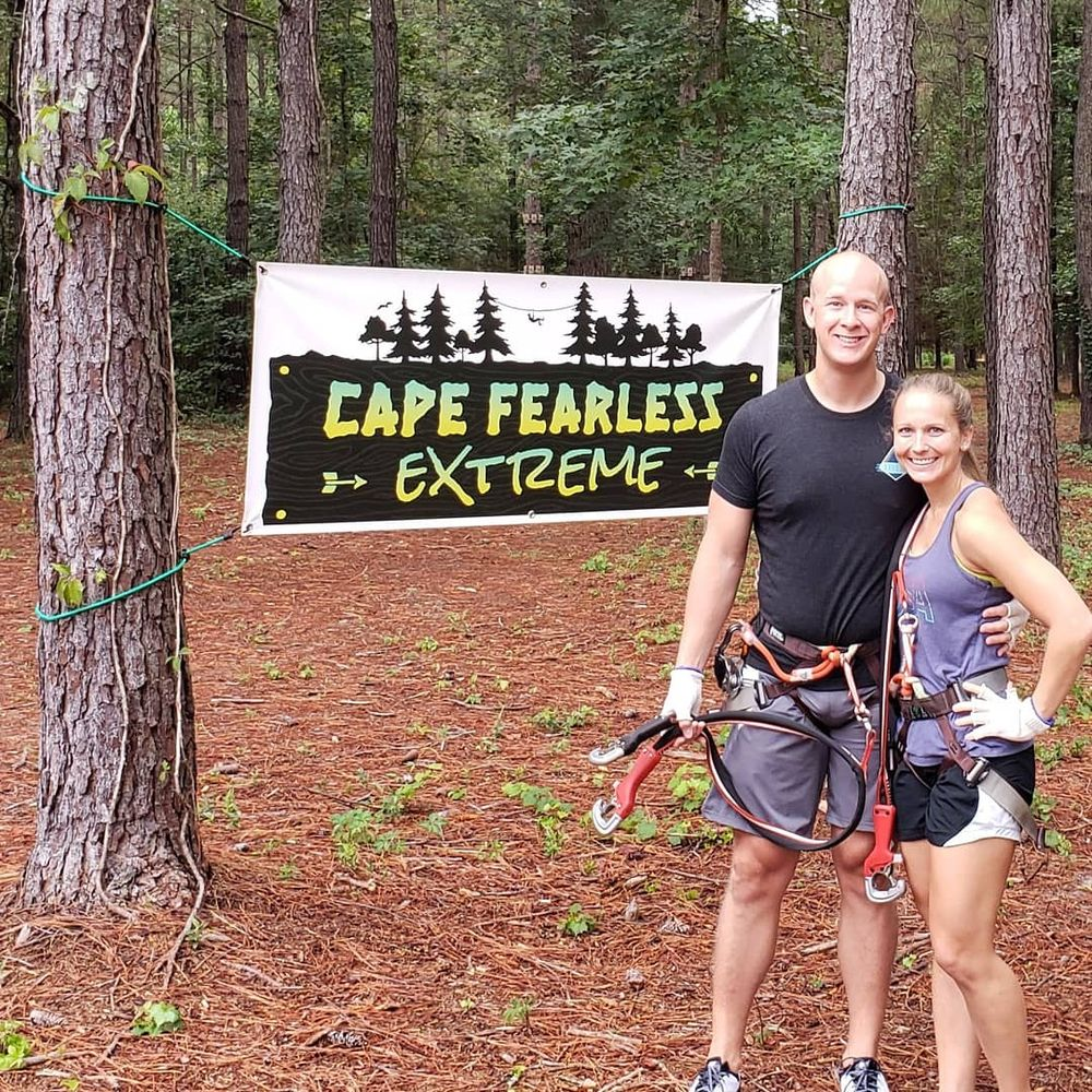 Cape Fearless Extreme Zip Lining: 1571 Neils Eddy Rd, Riegelwood, NC