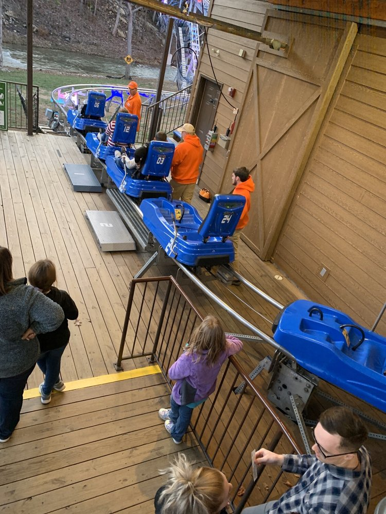 Runaway Mountain Coaster at Branson Mountain Adventure Park: 935 State Highway 165, Branson, MO
