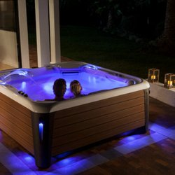 Hot tub date night