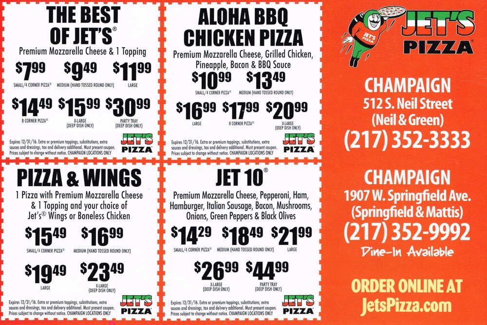 Jet city pizza seattle coupon