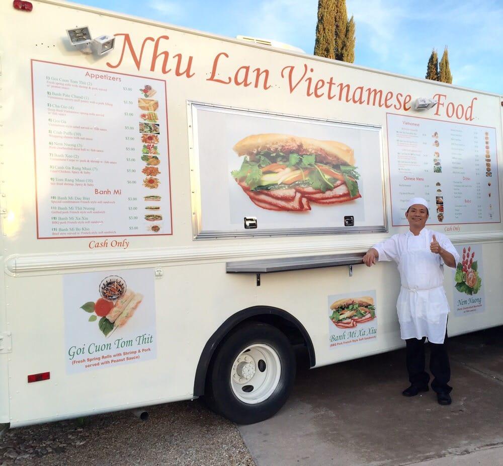 Find Nhu Lan Food Truck Tucson