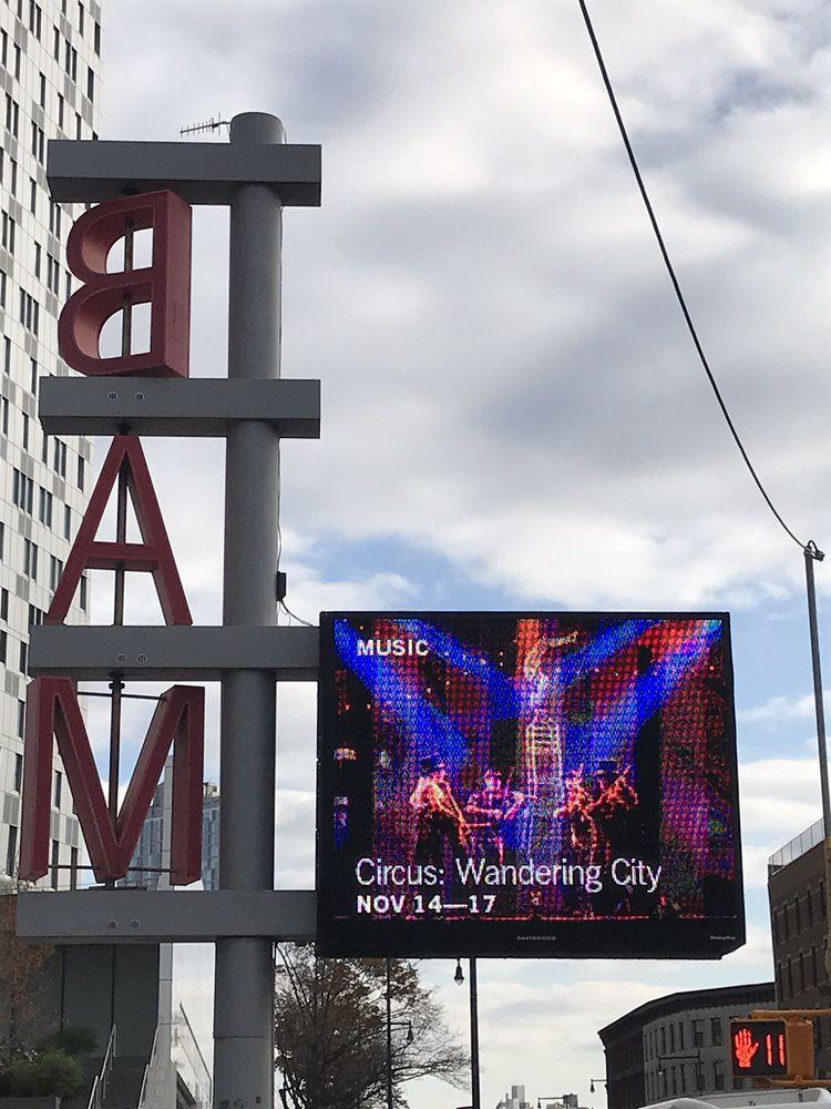 BAM Harvey Theatre: 651 Fulton St, Brooklyn, NY