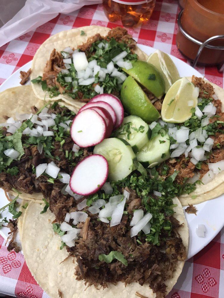 Food from El Taco Rico