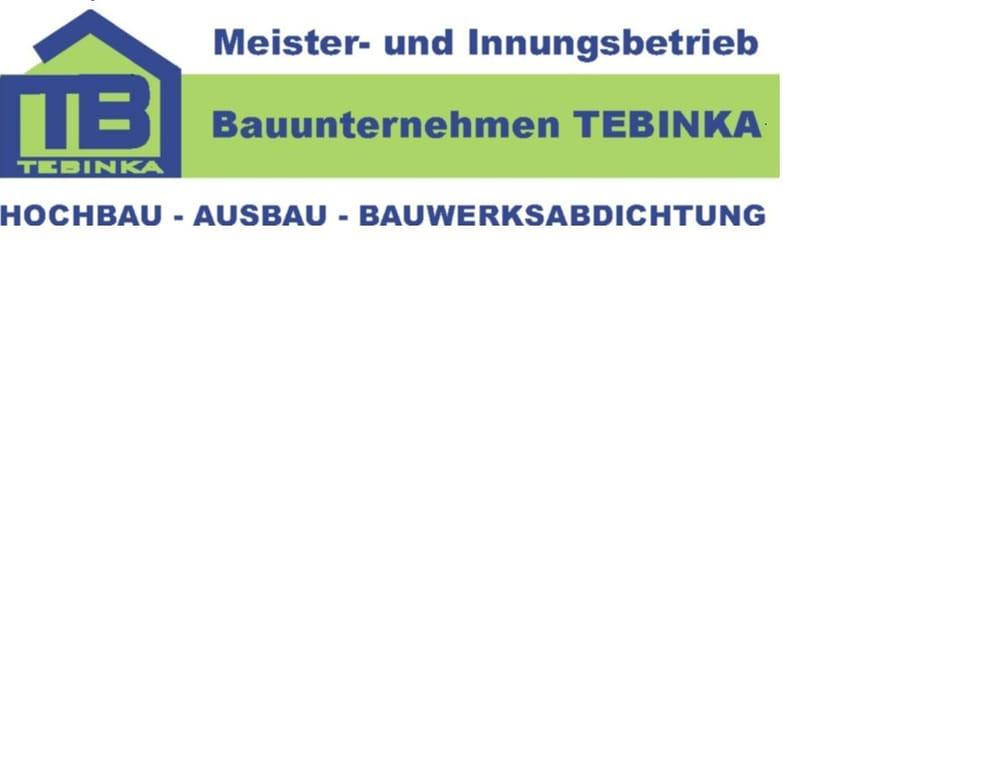 Bauunternehmen Tebinka Angebot Erhalten Wasserabdichtung Am