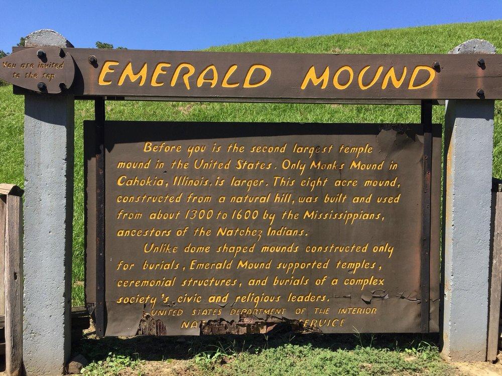 Emerald Mound: Emerald Mound Rd, Natchez, MS