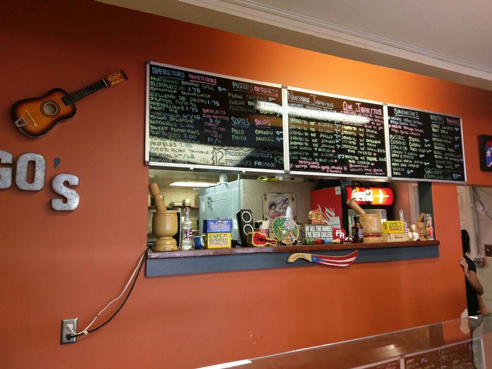 Santiago Restaurant Des Plaines Menu