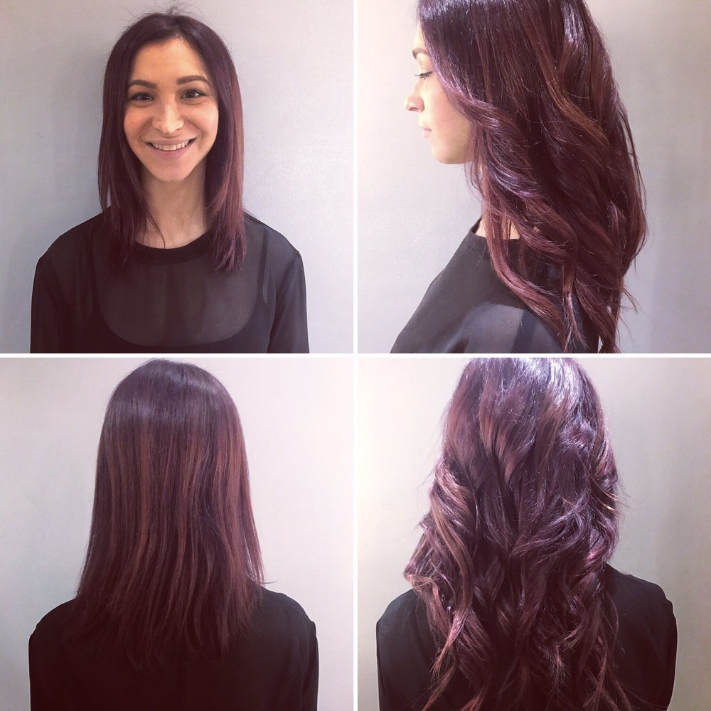 Before And After Hair Extensions By Paige Yelp