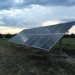 Photo Of Green Wolf Energy Arlington Tx United States Ground Mount Installation