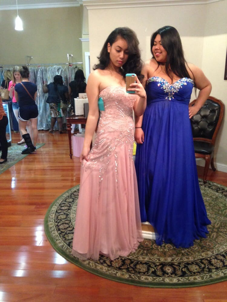 Finally got our prom dresses!! We can\'t wait for prom now! Thanks to ...