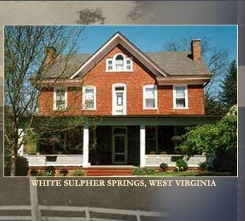 The James Wylie House Bed & Breakfast: 208 E Main St, White Sulphur Springs, WV