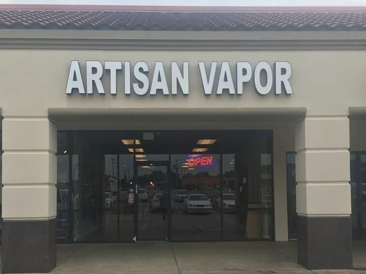 Artisan Vapor Company: 1301 N Collins St, Arlington, TX