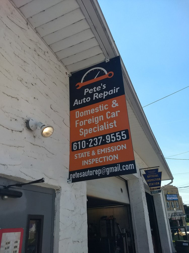 Pete's Auto Repair: 516 MacDade Blvd, Collingdale, PA