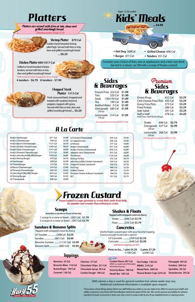 Hwy 55 Burgers Shakes & Fries: 750 Leonard Ave, Albemarle, NC