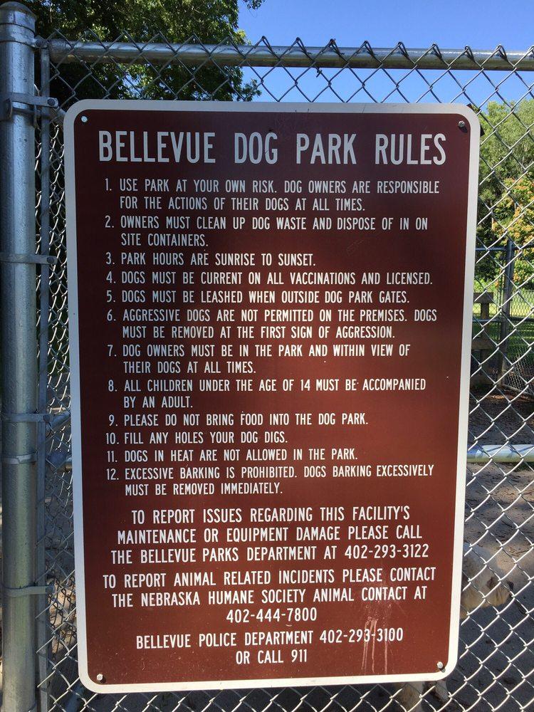 Jewell Dog Park: 624 Combs Rd, Bellevue, NE