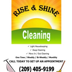 Rise And Shine Quotes | Rise And Shine Cleaning Request A Quote Home Cleaning Downtown