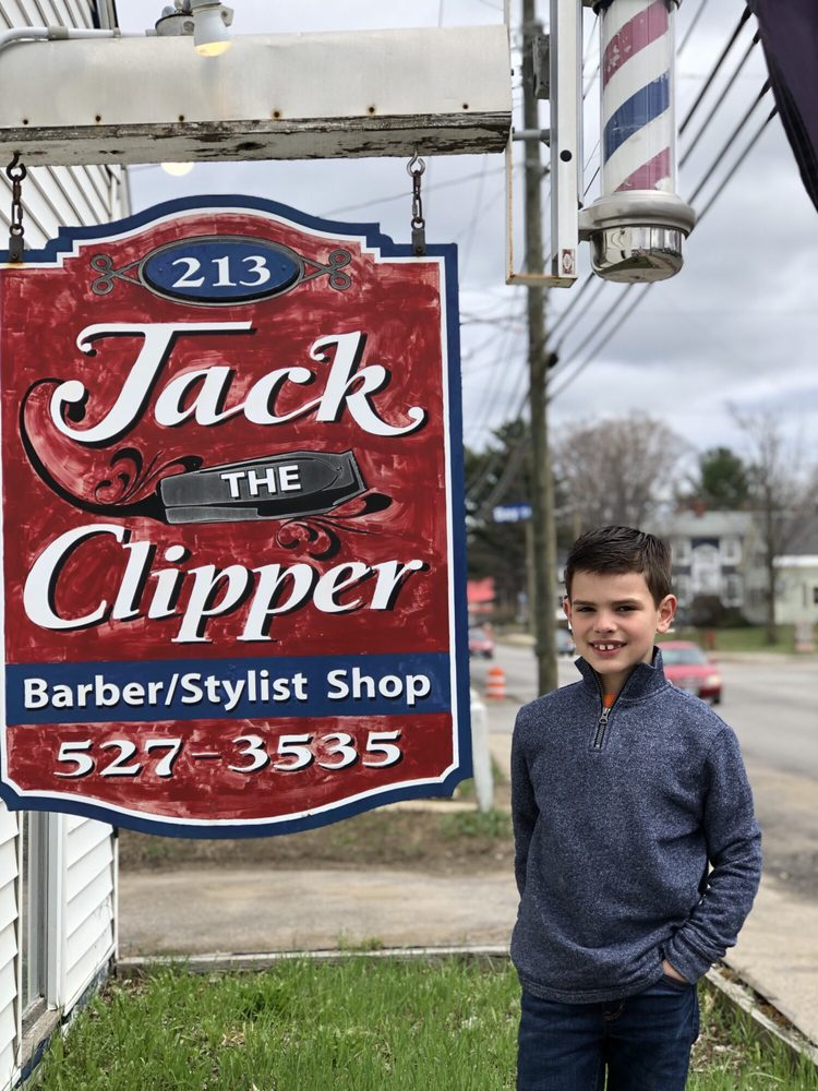 Jack the Clipper Barber/Stylist Shop: 213 Court St, Laconia, NH