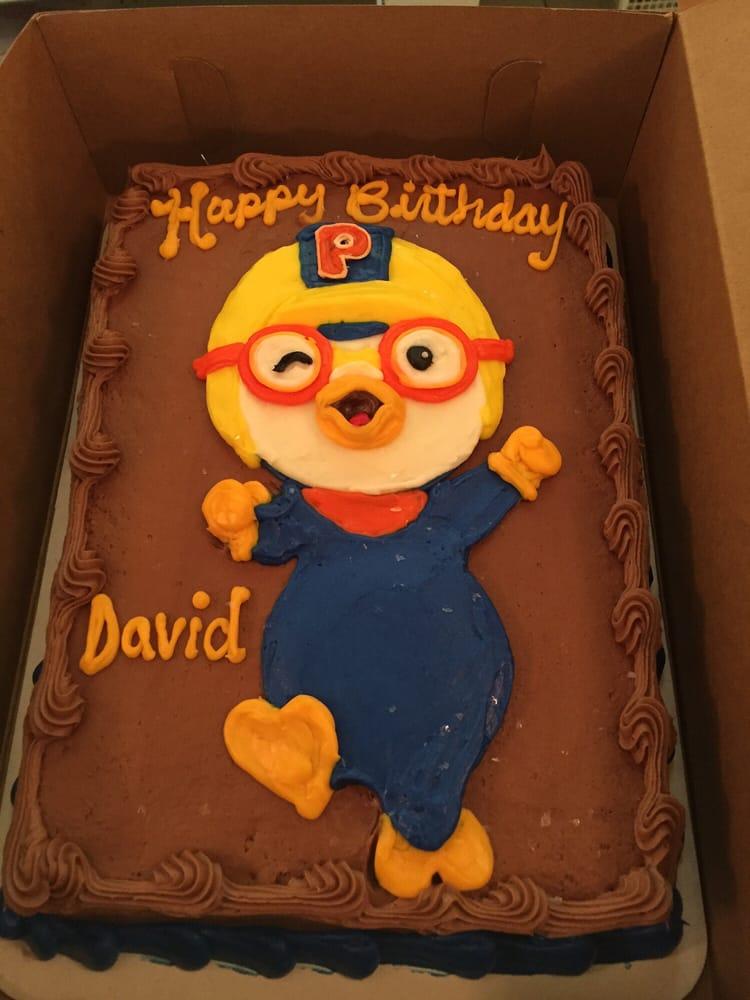 Pororo The Little Penguin Birthday Cake Yelp