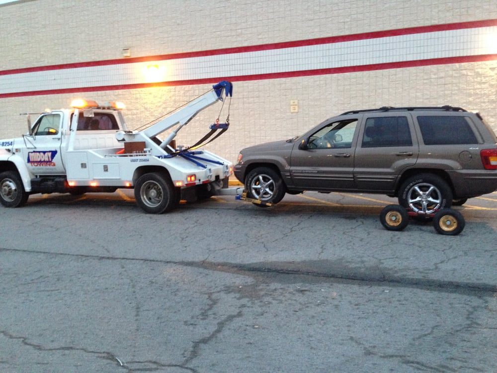 Midday Towing: 2917 Kirkman Rd, Chattanooga, TN