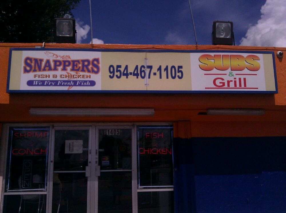 Snappers yelp for Snappers fish chicken