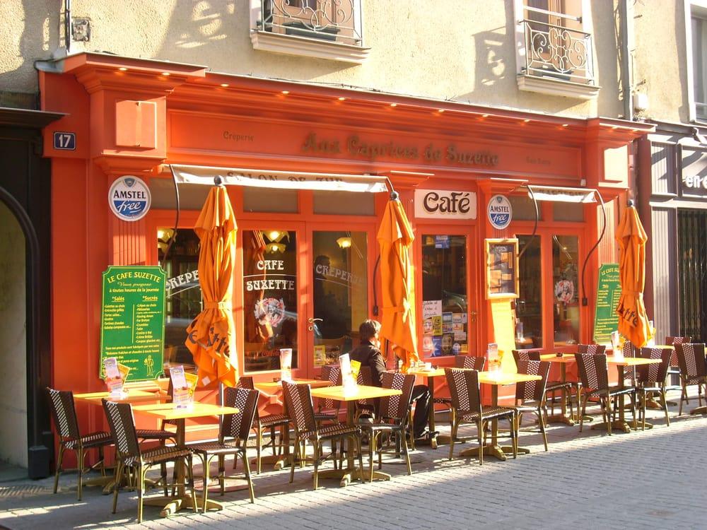 Aux caprices de suzette crepes 17 rue vasselot rennes for Restaurant o 23 rennes