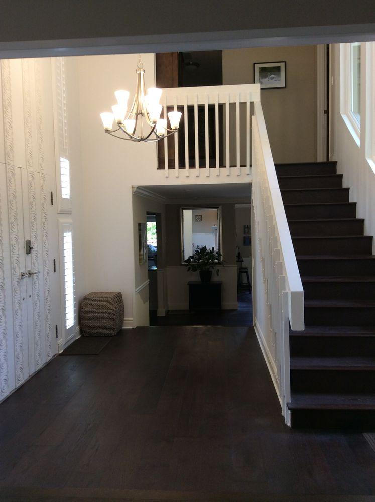 New Dark Oak Hardwood Floors By Dimensional Flooring Yelp