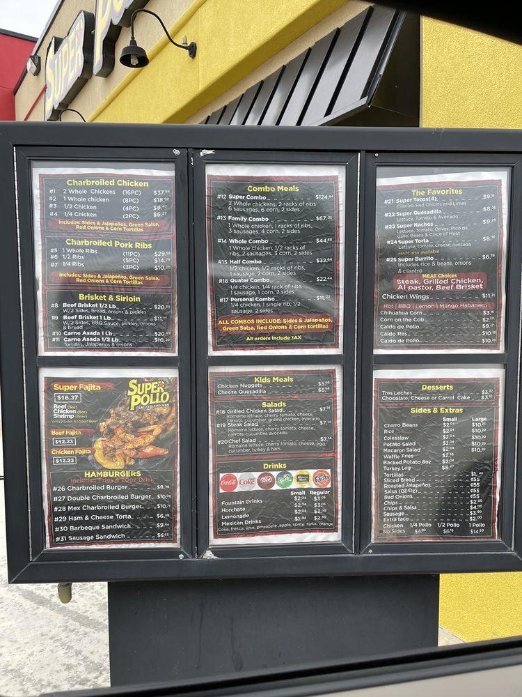 Super Pollo: 1518 N Main St, Andrews, TX
