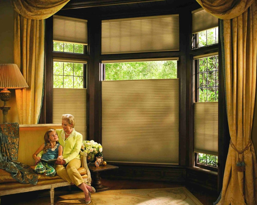 hunter douglas top down bottom up duette shades can be coord